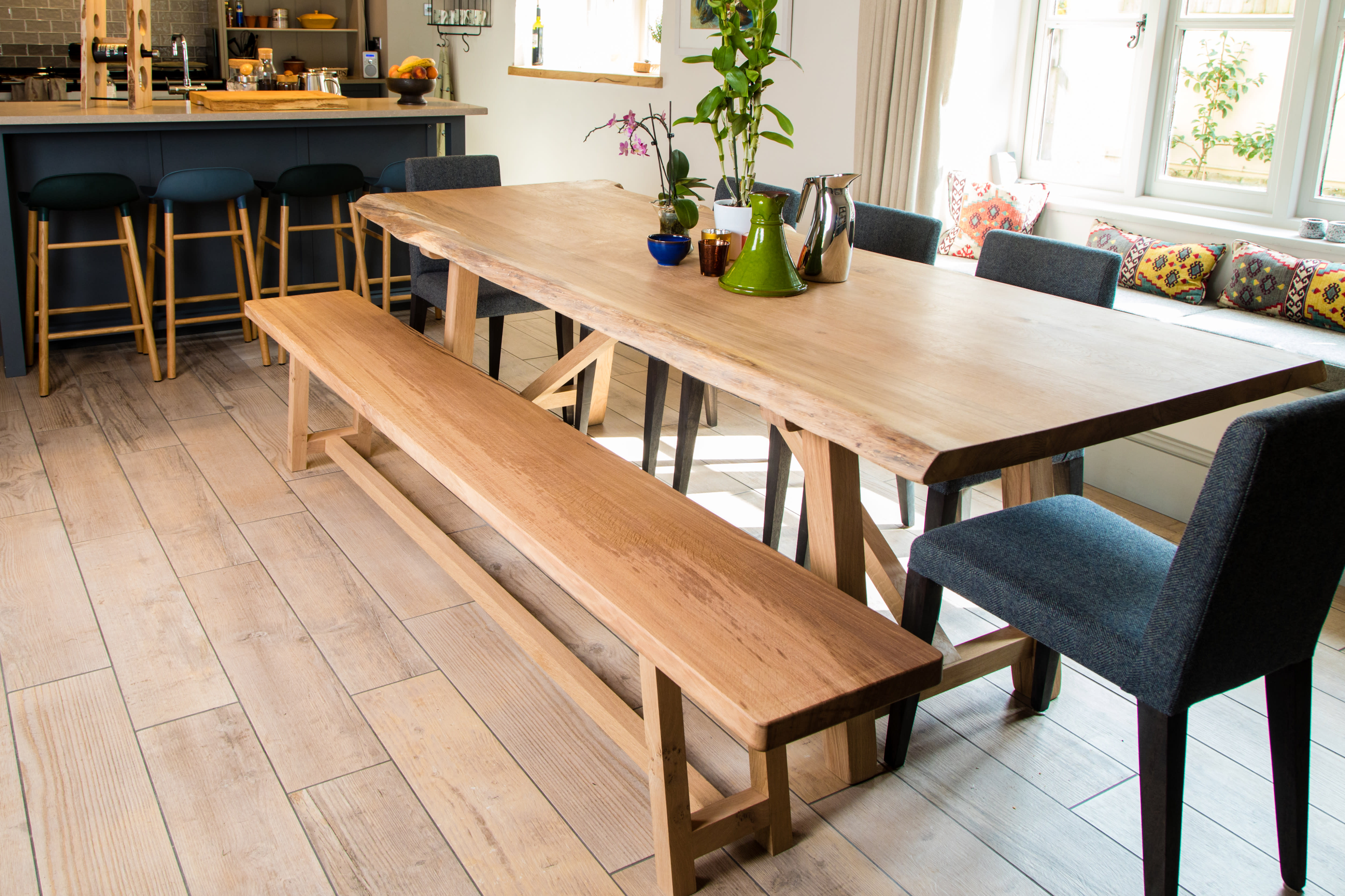 sizes custom turnbuckle faveri islands furniture dining top extensions live faveris and table woods optional slab finishes wood edge s end