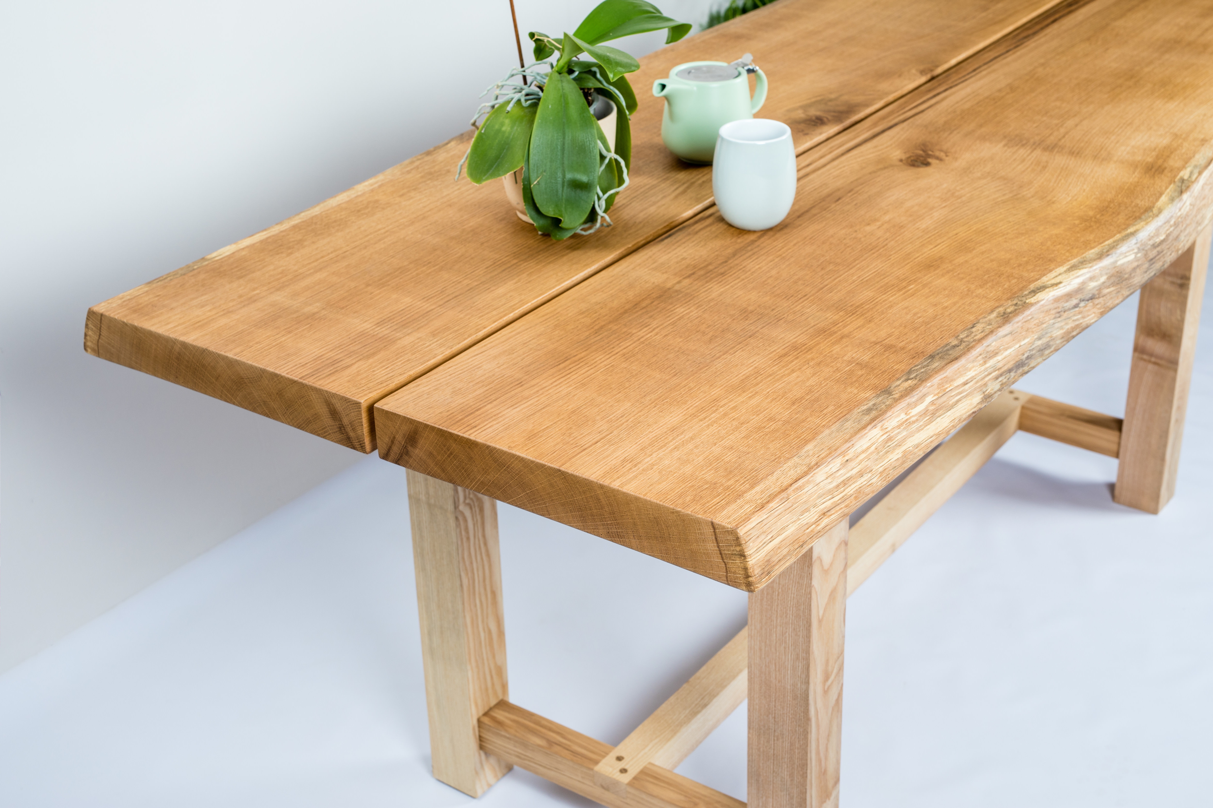 suthers table edge dining scott natural mn for honey living by live