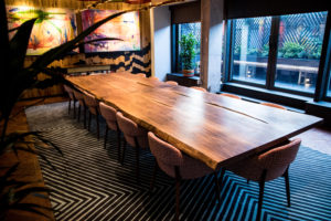 Bespoke Walnut Boardroom table