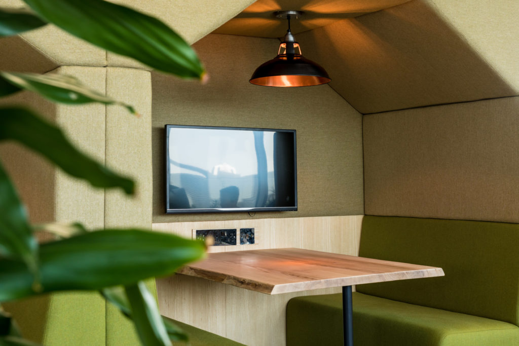 Joinery, working pods and shelving systems by Forest to Home